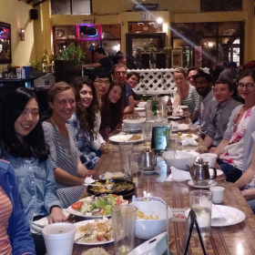 Chabinyc group dinner, Summer 2017